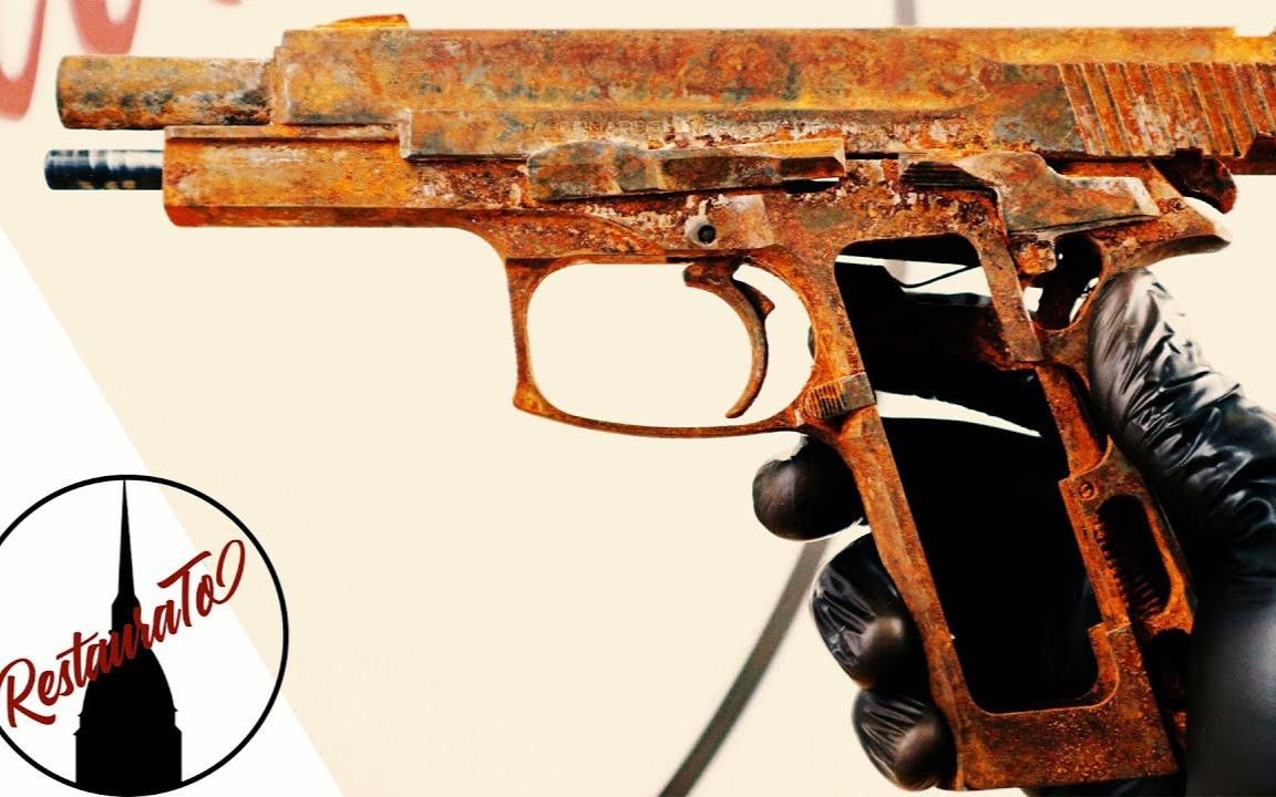 【硬核翻修(熟肉)】修好上世纪的9mm军用手枪!