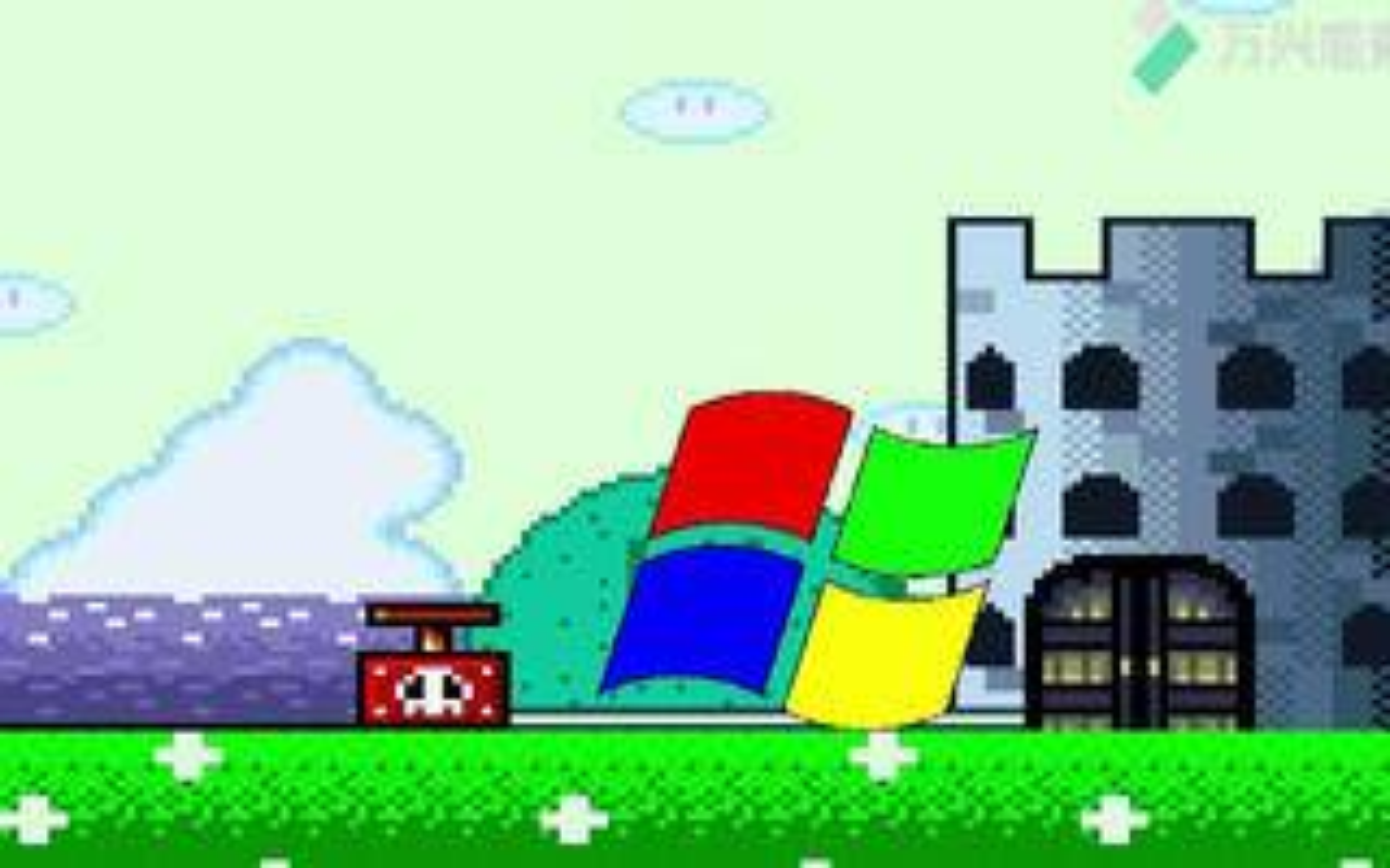 【MUGEN】Windows XP炸城堡