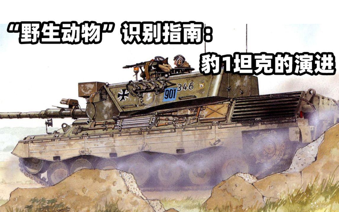 野生动物 识别指南:豹1坦克的演进