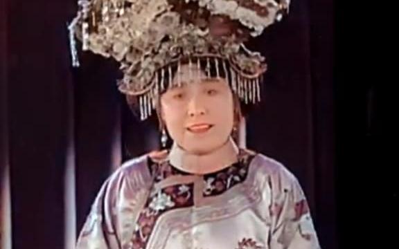 AI修复1930年德龄公主呼吁世界和平的影像