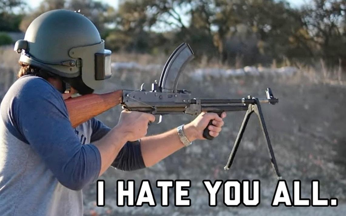 【终极整活】上下颠倒的AK!被诅咒的枪真的出现了!