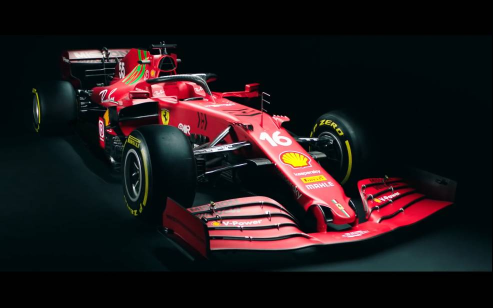 F1 2021法拉利发布新车SF21,搭配全新引擎,这下能翻盘吗?