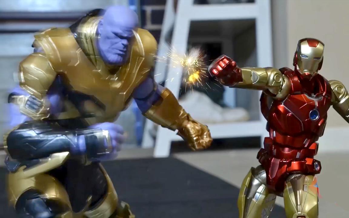 超级英雄玩具总动员:灭霸卷土重来,钢铁侠与小蜘蛛如何应对?