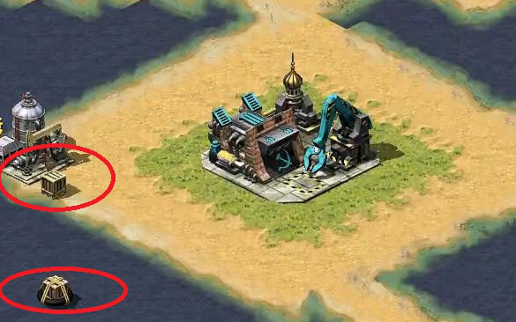 【红色警戒】开局每人一小块地一个油井,就没啦:除非你看到了箱子!