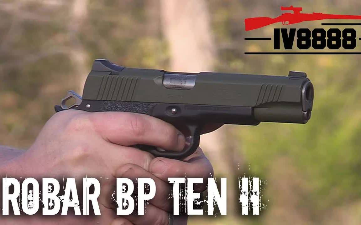 Robar Kimber BP Ten II .45 ACP