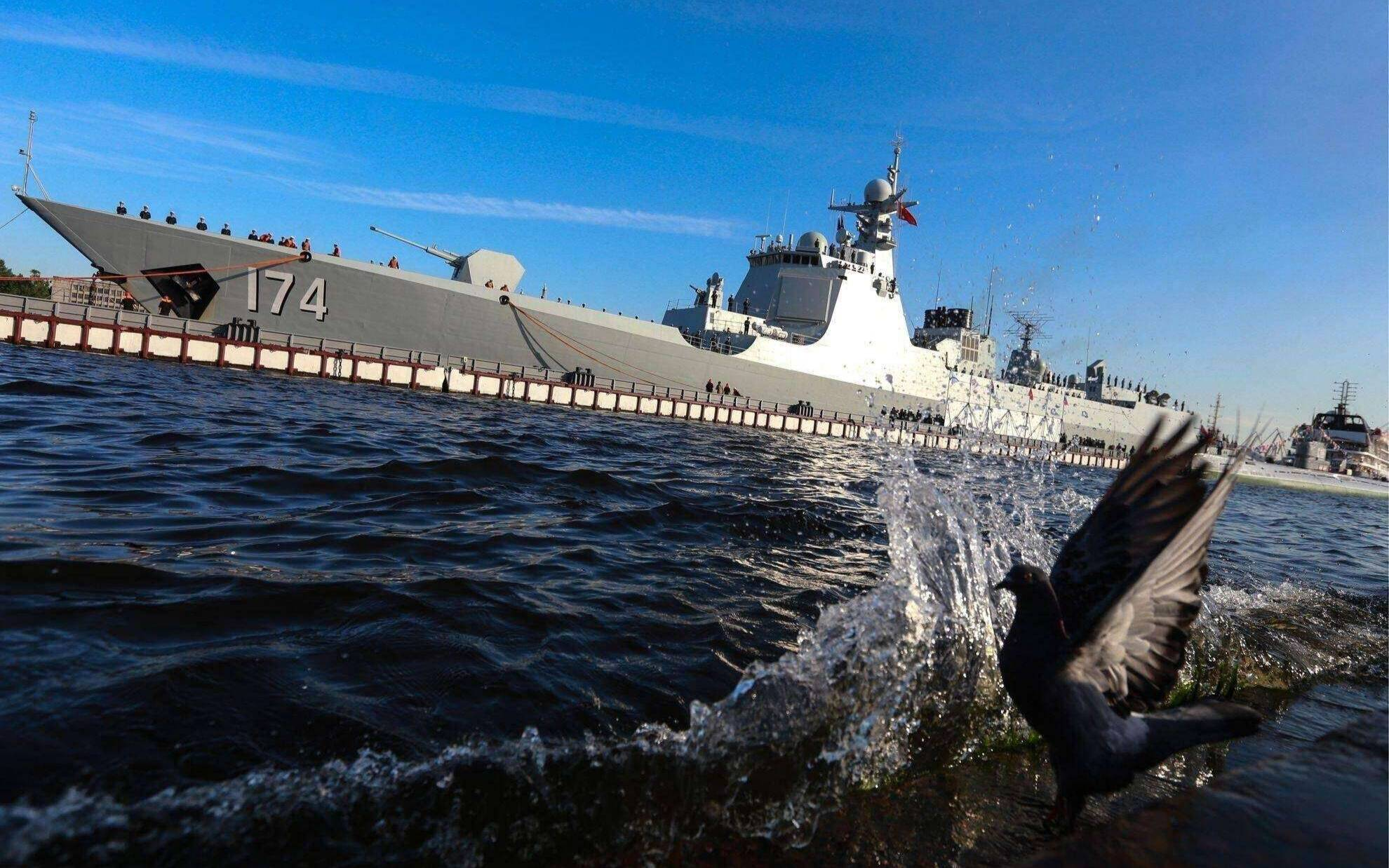 """世界第一?中国海军获美国新封号,""""嘲讽""""还是别有用心?"""