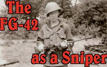 【被遗忘的武器/双语】FG-42可以当狙击步枪用吗?