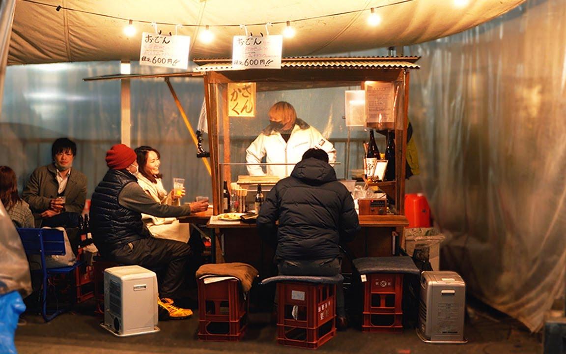 老式关东煮-主人生活中的一天-日本街头小吃-日本炖肉