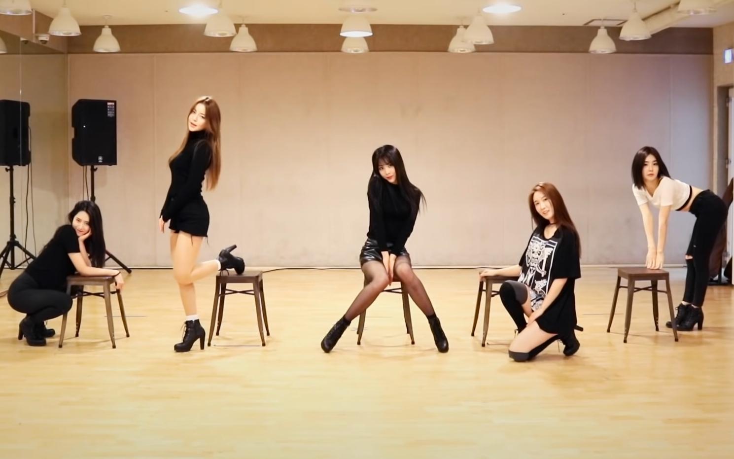逆袭女团Brave Girls - Rollin 舞蹈练习室~私服版