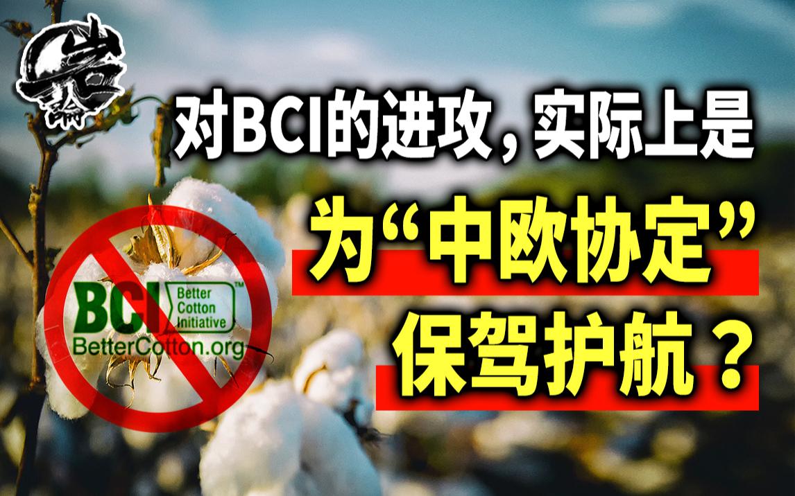 """对BCI的进攻,实际上是为""""中欧协定""""保驾护航?【岩论】【210期】"""