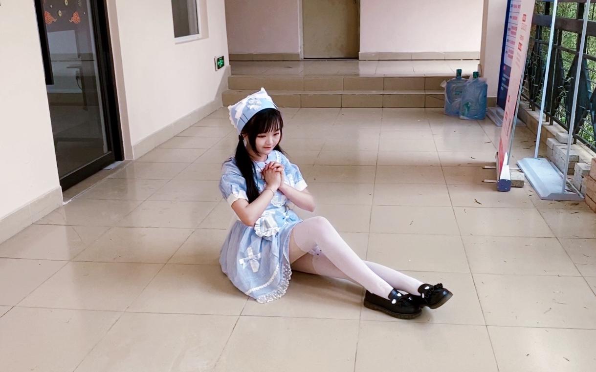放学别走,女仆学妹在教室门口等你【北宫翎】