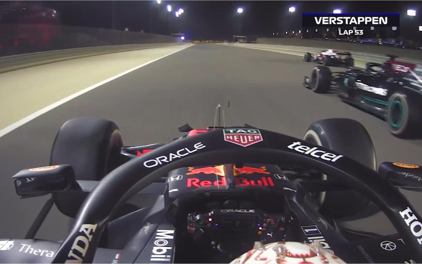 F1 2021巴林,十大精彩瞬间,维斯塔潘正面PK汉密尔顿,新秀马泽平37秒完成退赛