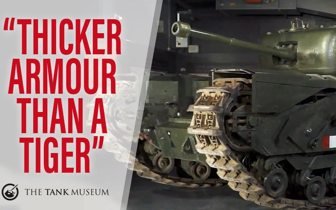 【坦克讲座/双语】丘吉尔MkIV与MkV步兵坦克