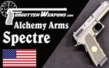 """【被遗忘的武器/双语】格洛克+1911=炼金武器公司""""幽灵""""手枪"""