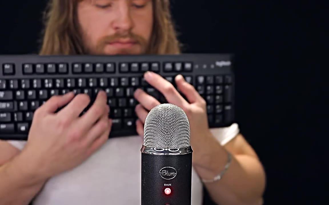 【助眠】【Fred】超快速键盘敲击音 程序员小心了