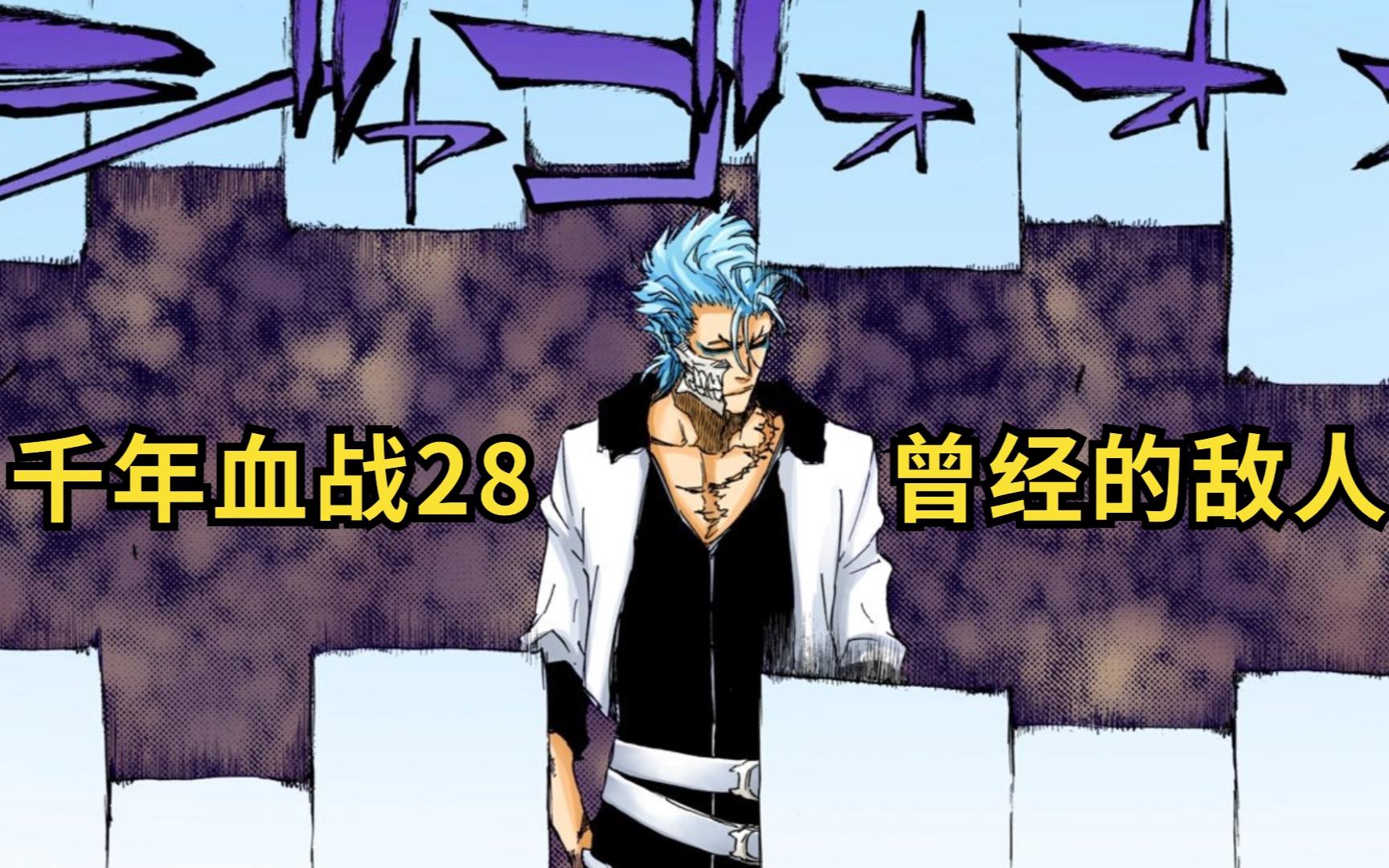 被制服的蓝染与豹王葛力姆乔 死神千年血战28