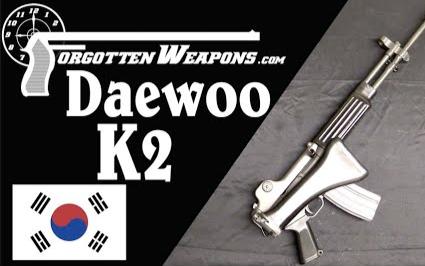 【被遗忘的武器/双语】大宇K2 - 韩国的AKAR混血儿