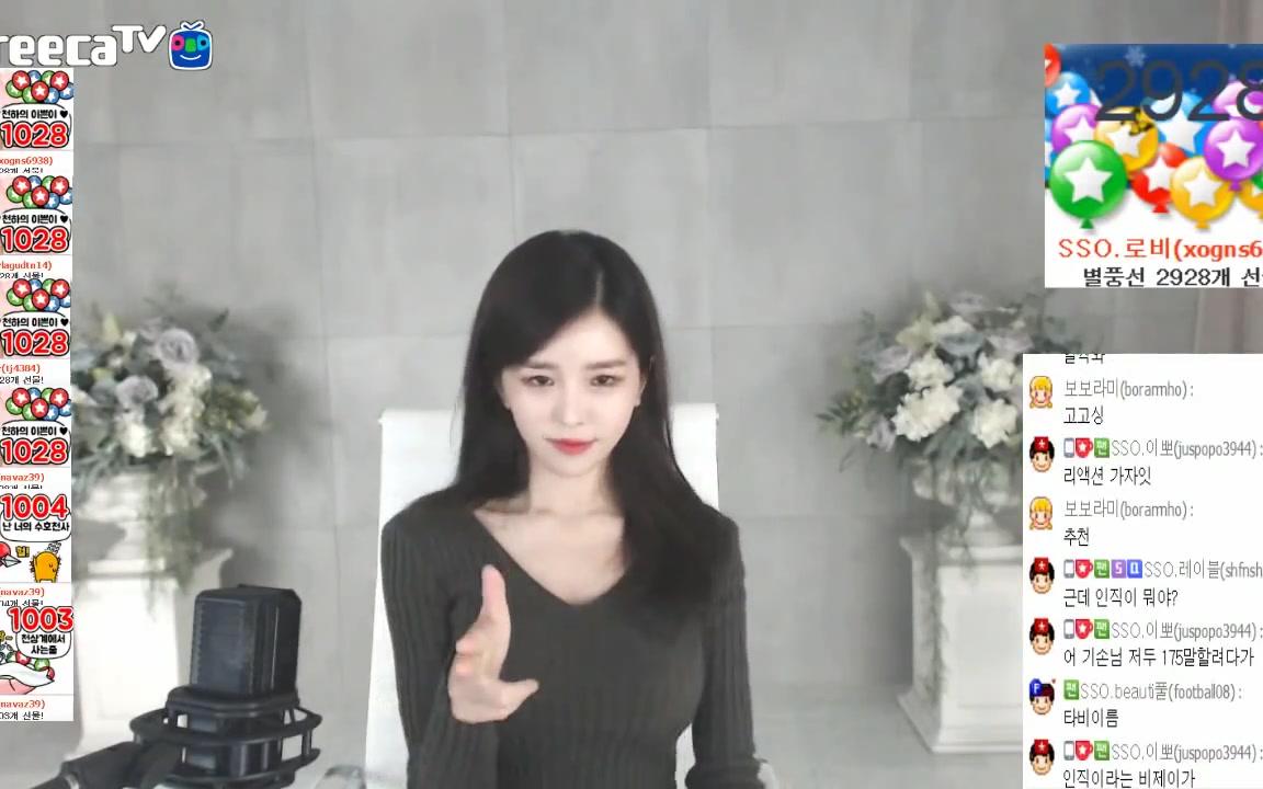 Afreecatv BJ SSOnim 尹素婉 SUNMI李宣美 - Gashina 部分合集