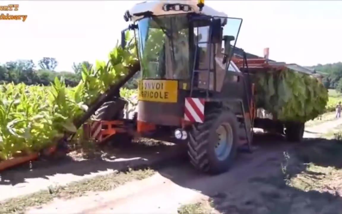 现代重型农业机械的效率真是令人惊叹