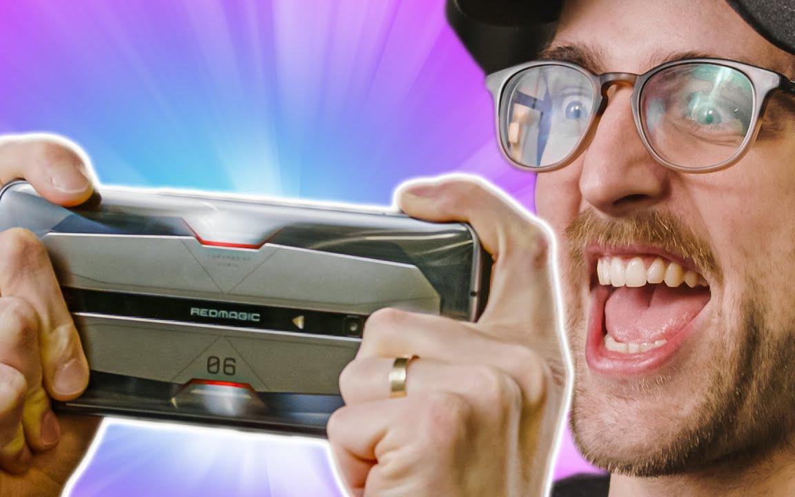 【官方双语】Riley的游戏手机初体验 - 红魔6 Pro #科技过电