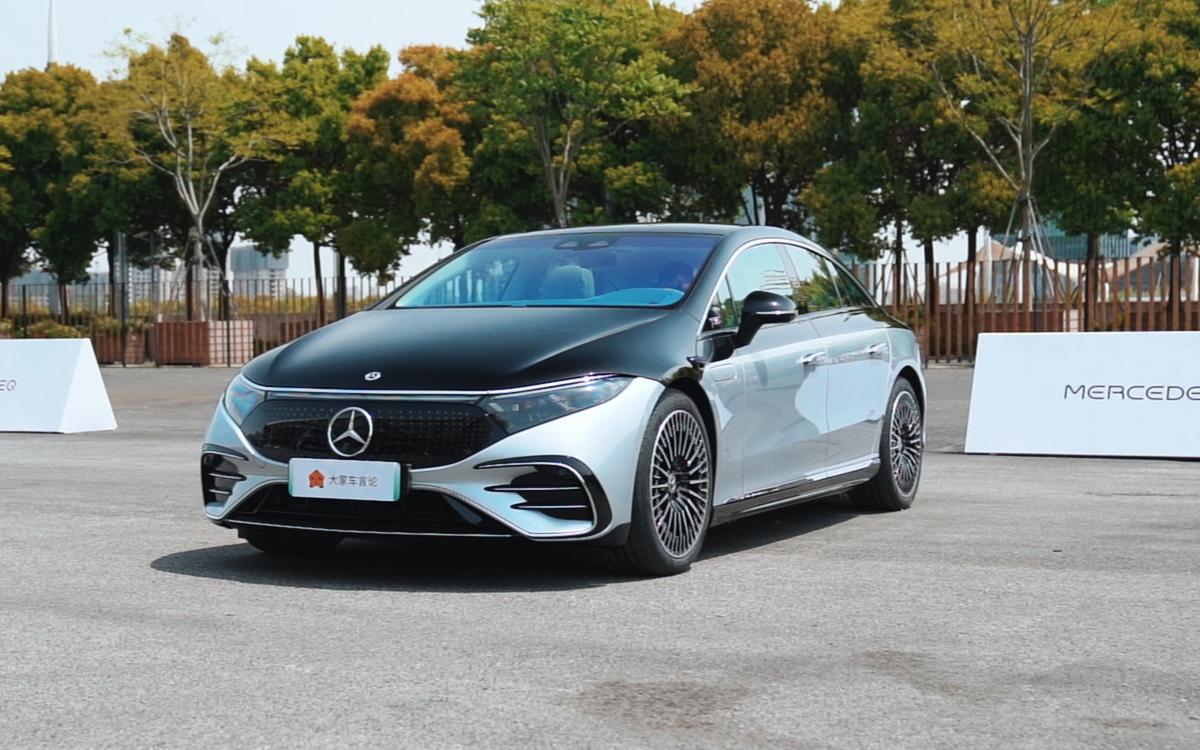 奔驰EQS中国首发体验,这才是真正豪华电动车?