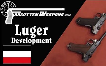 【被遗忘的武器/双语】卢格手枪发展史 - 博查特C93到德军P08