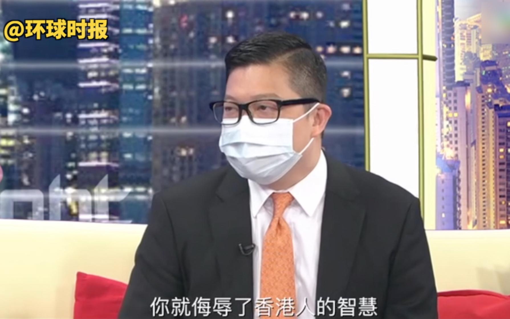 """港警""""一哥"""":如果说香港没有外国势力干预,就是在侮辱香港人智慧"""