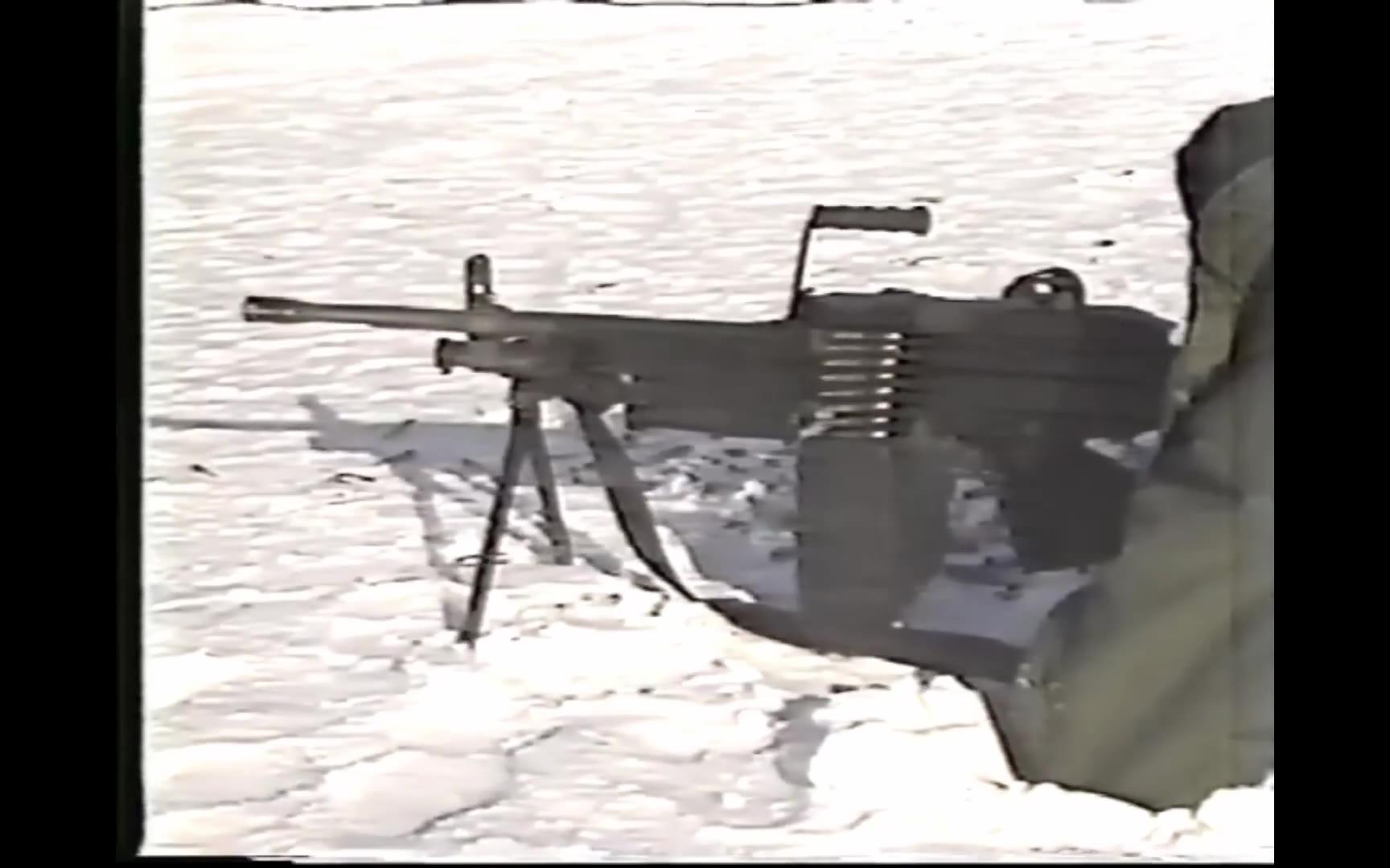 【中字/加拿大武装力量/1986年】C9(FN米尼米/M249 SAW)轻机枪的运作原理