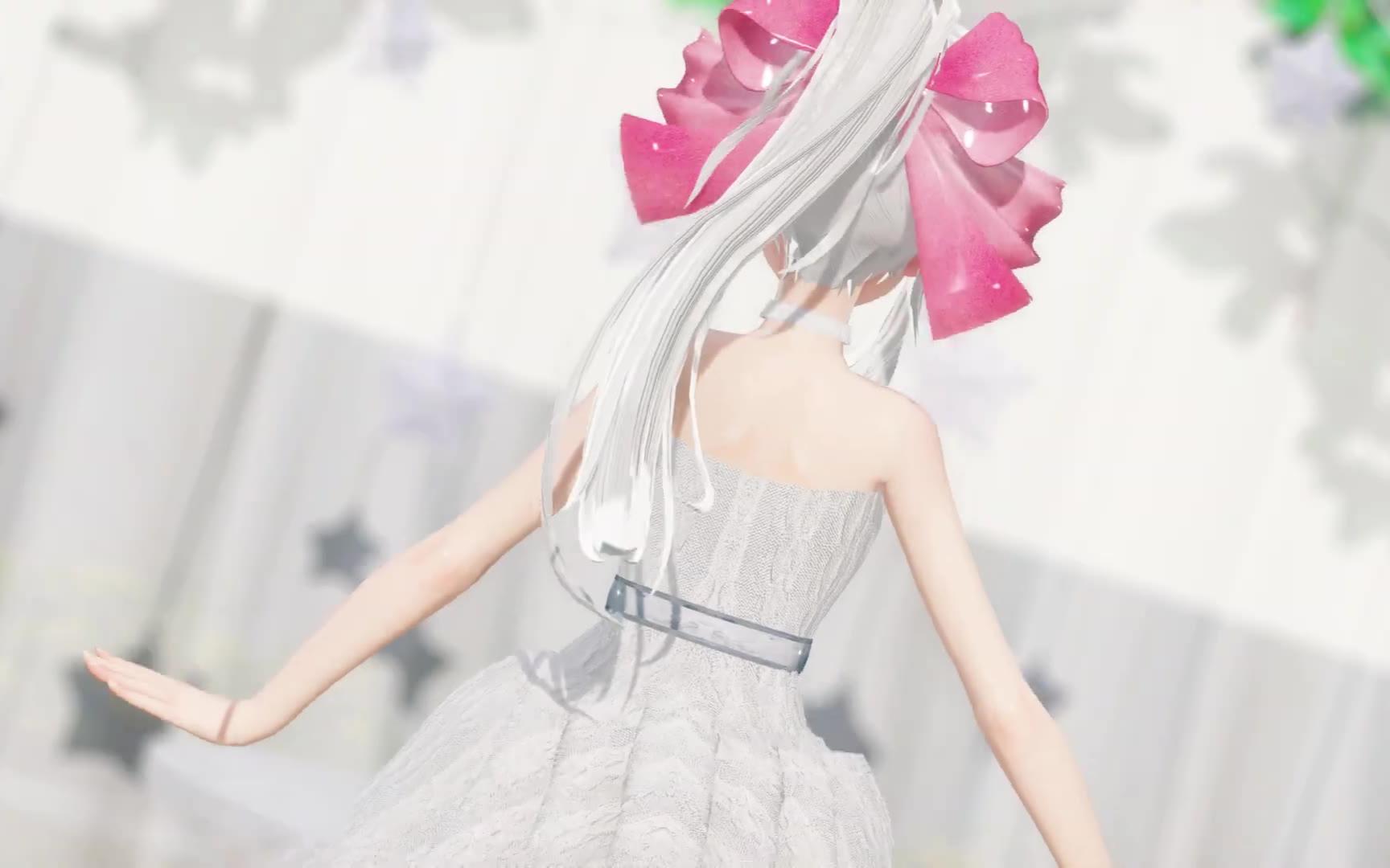 [MMD]弱音HAKU - Darling Dance