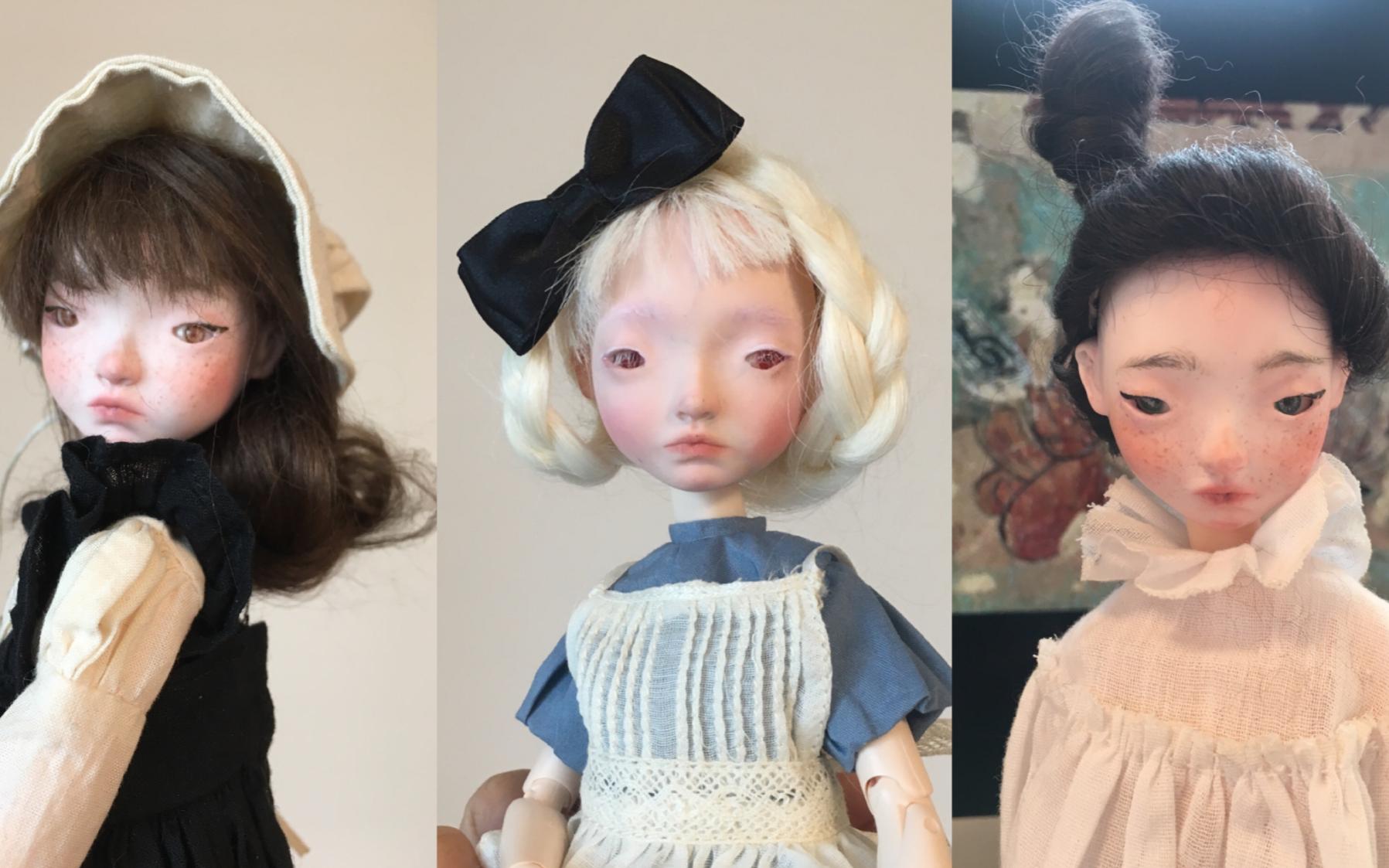 震惊!中年妇女失业在家一年后,把粘土做成市价3000的树脂娃娃|BJD自制全过程