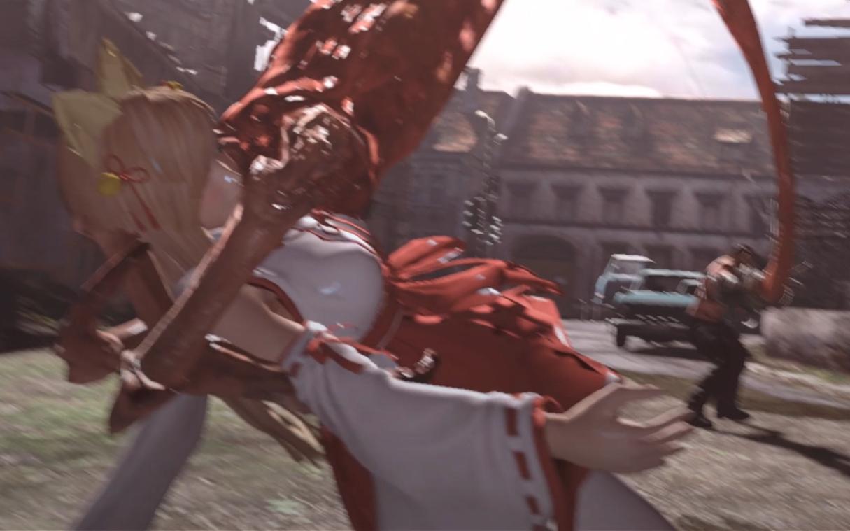 【生化危机6】想给玛丽罗斯报仇却被当成面条吞下的狐妖小巫女井伊直虎
