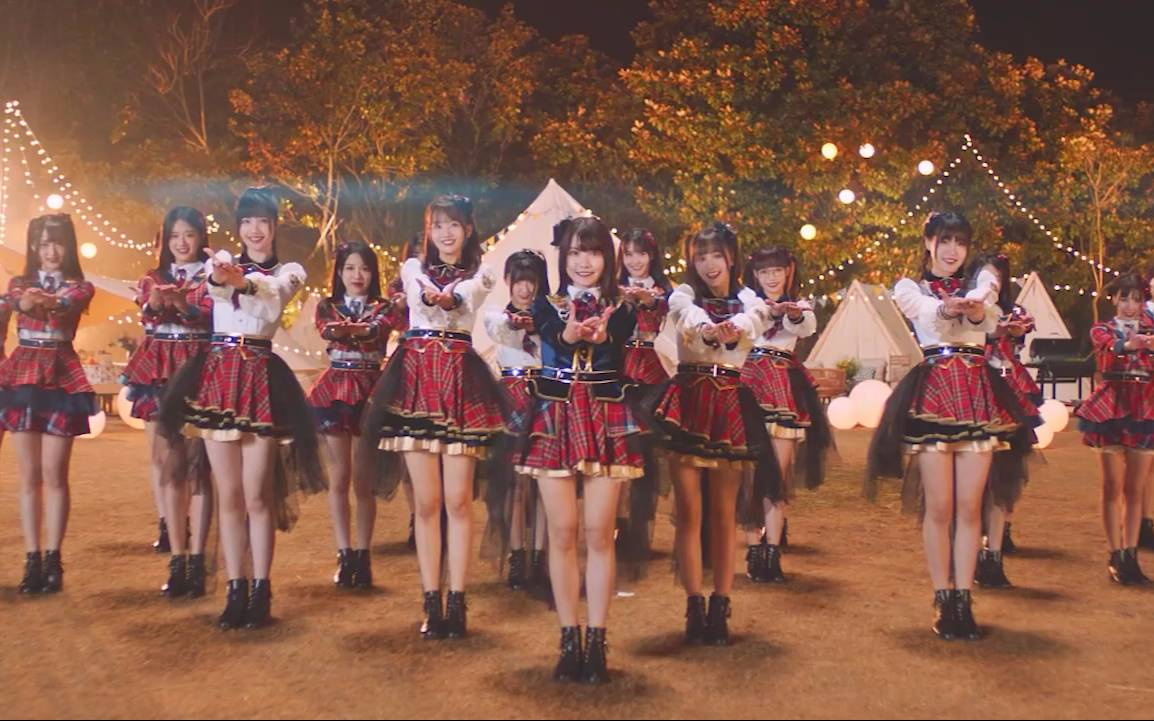 AKB48 TeamSH《借口而已Maybe》舞蹈版.歌词字幕ver