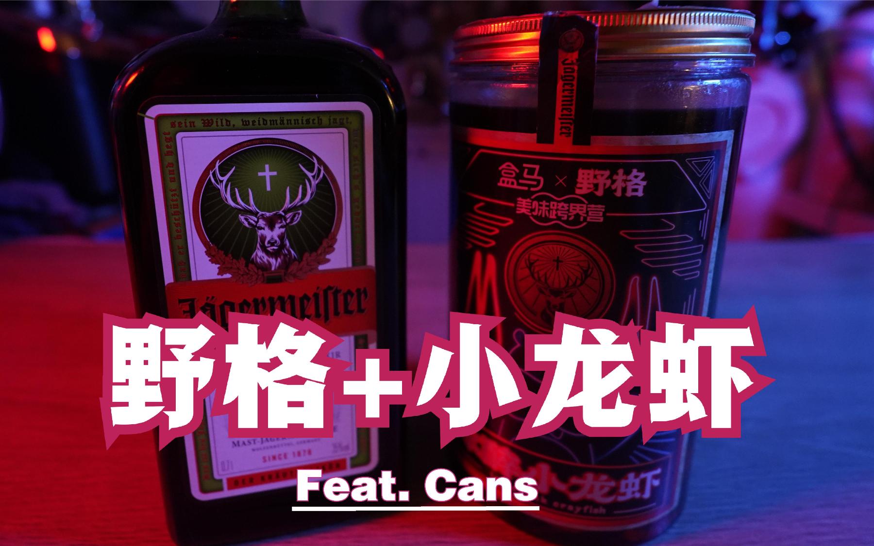 Vlog | 野格+小龙虾=断篇虾?嗯,咱想要的Vlog就是这个味!feat. Cans