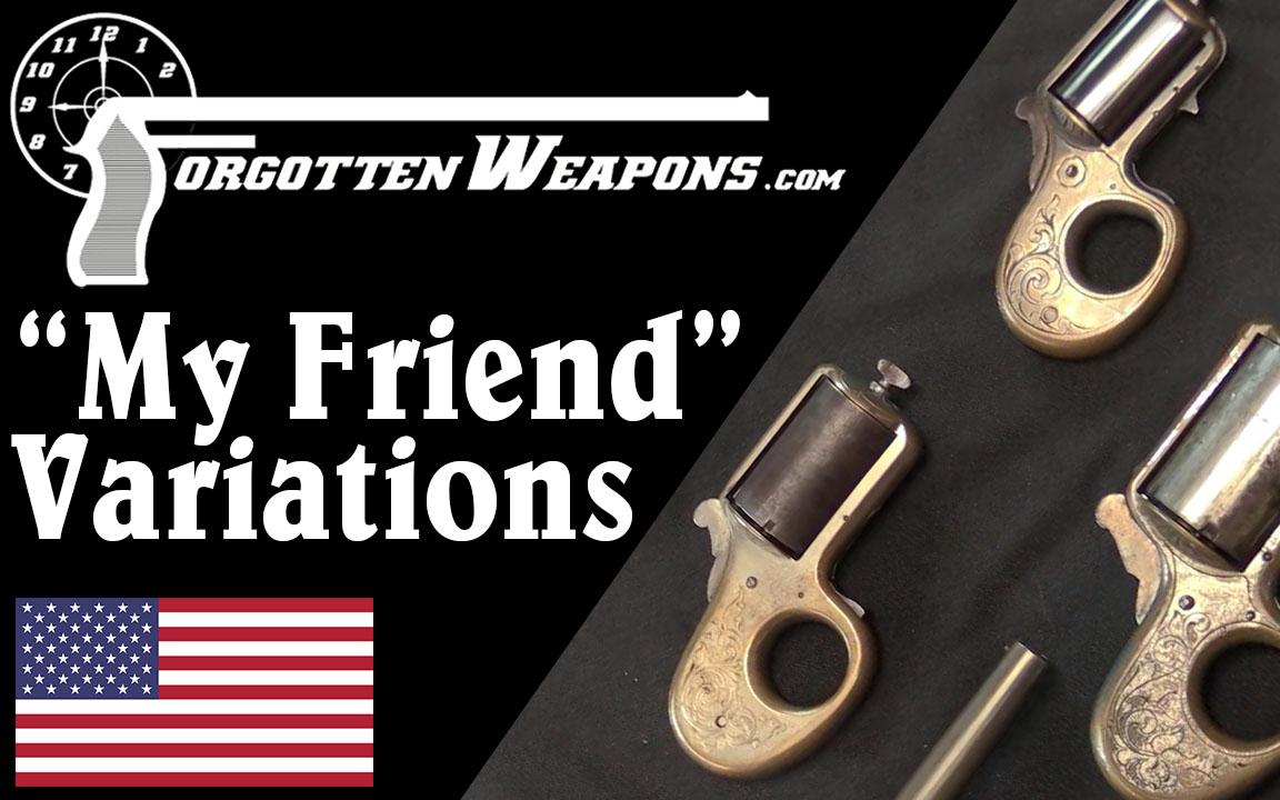 """【被遗忘的武器/双语】各式各样的詹姆斯·里德""""小伙伴""""指虎枪转轮枪"""