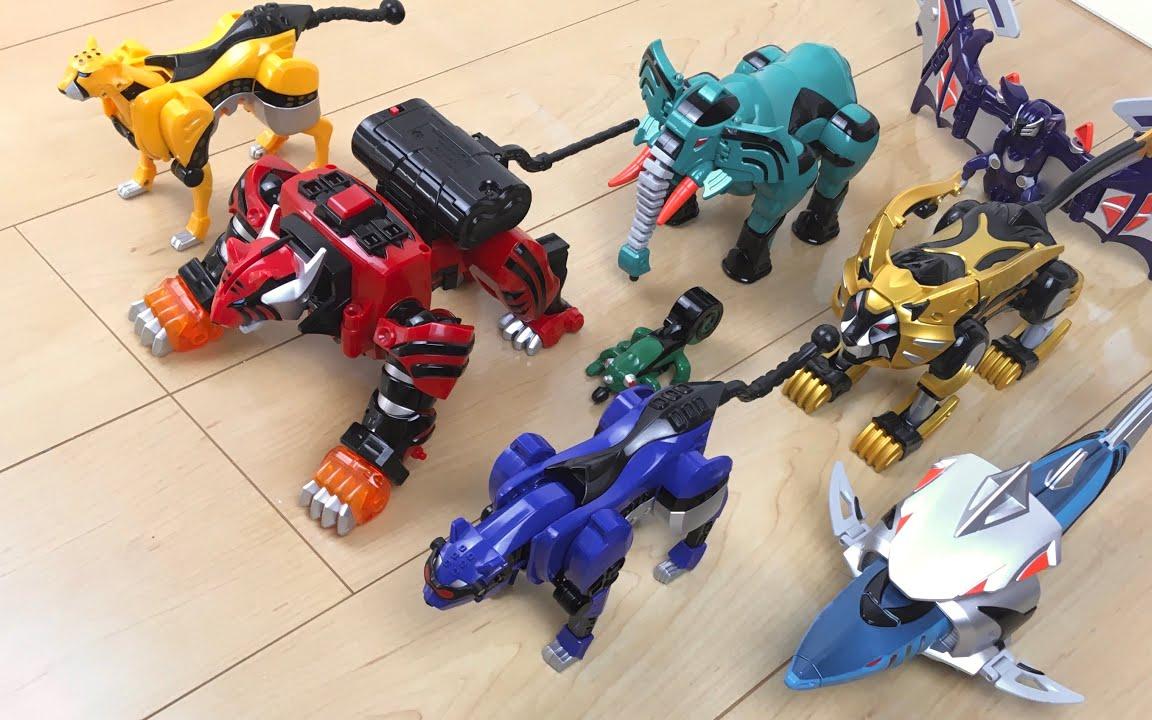 兽拳战队 DX 激气斗者、装备系列