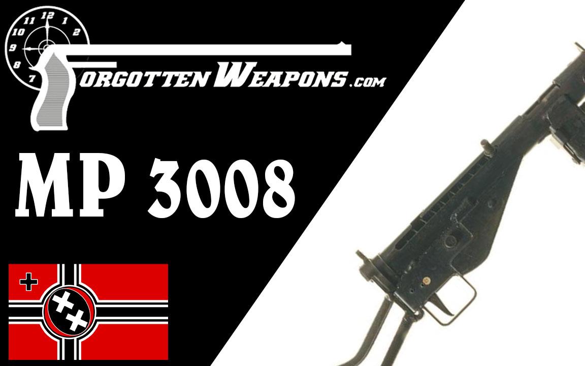 【被遗忘的武器/双语】德国仿制的司登冲锋枪 - MP3008