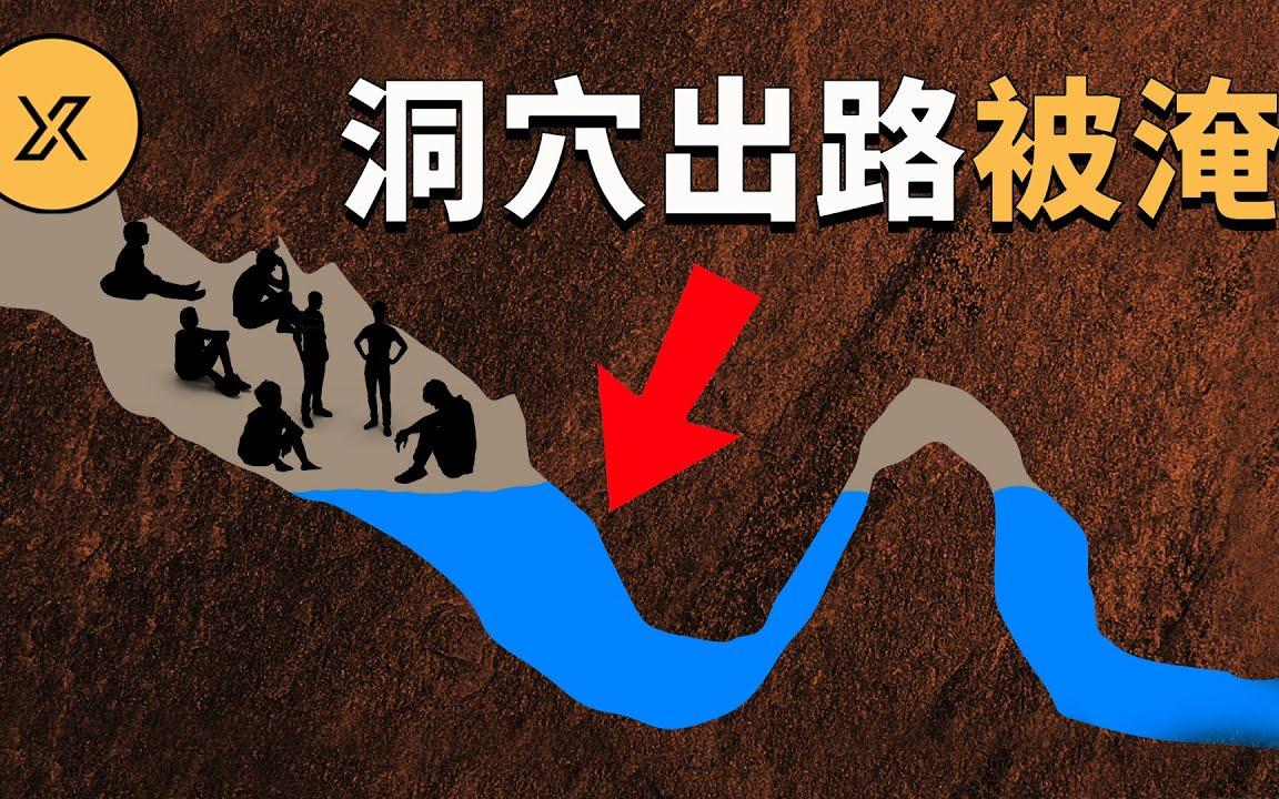 洞穴內水位上漲擋住13人出路,泰國睡美人洞大救援