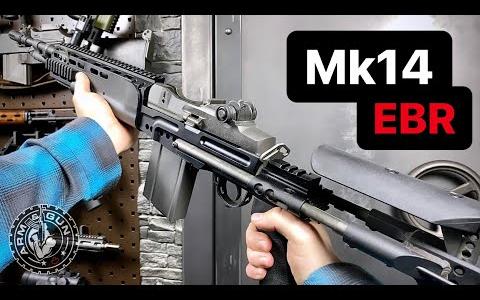 1分钟速看Mk 14增强型战斗步枪