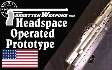 【被遗忘的武器/双语】跟听起来一样怪: 弹壳驱动半自动步枪原型