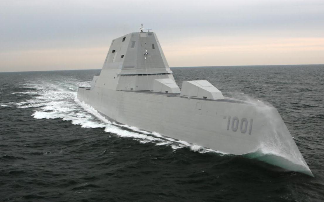 正式升级!美军科幻战舰将装备高超音速导弹,导弹却还是PPT