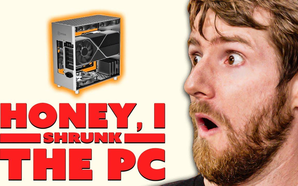 【官方双语】世上最快的游戏电脑..就这么大个!- Winter机箱#linus谈科技