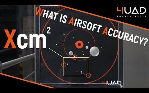 [玩具枪课堂]Airsoft准确度是什么的?更重的BB表现更好吗?