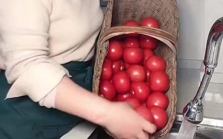 喜妈:今天做西红柿炒蛋