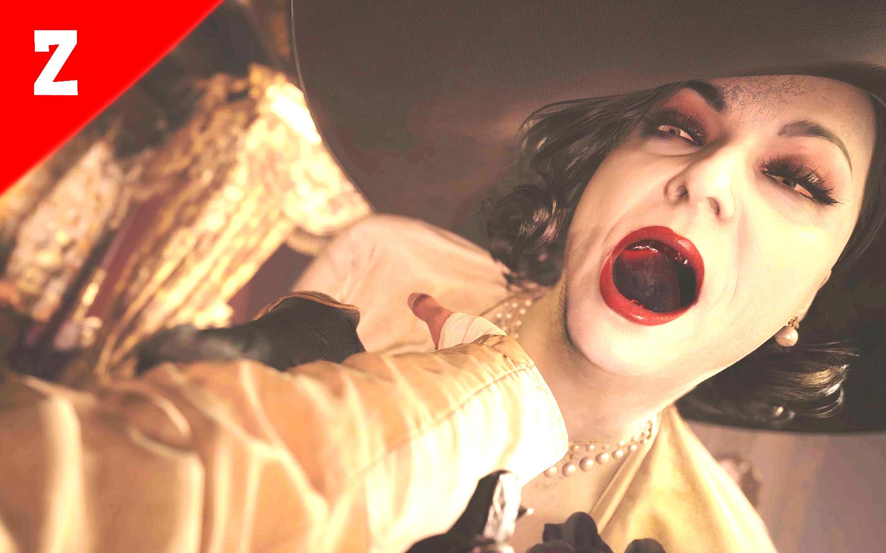 城堡主人吸血鬼夫人,快被她吸干了《生化危机8》第二期