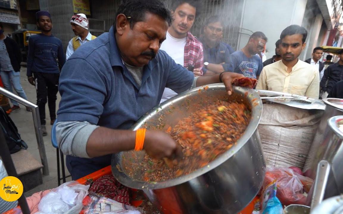 看看一份著名印度的街头小吃,要用多少配料,看看是怎么做的