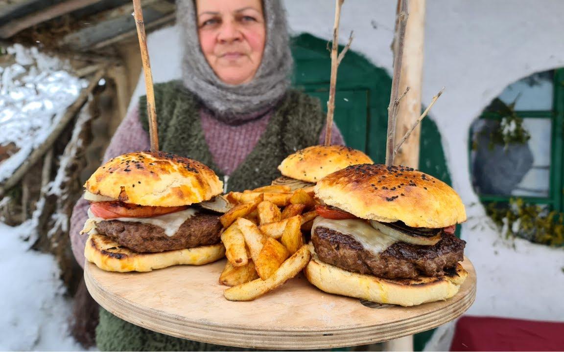 我有史以來最好的羔羊漢堡,鄉村生活網誌