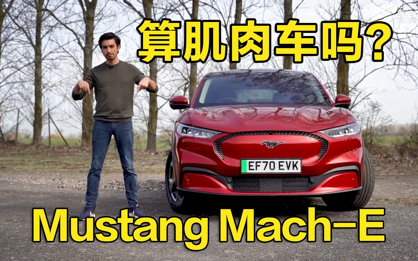 算肌肉车吗? 海外试Mustang Mach-E