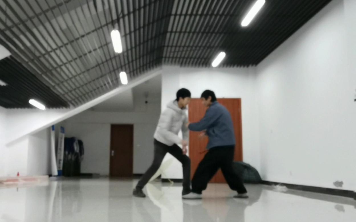 杨式太极拳式随机对练(仅供参考)