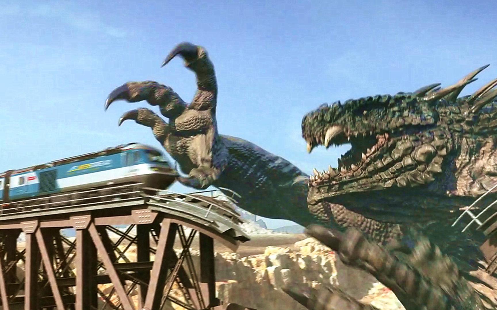 山寨版哥斯拉诞生,战斗力比正版哥斯拉都要强,搞笑怪兽电影