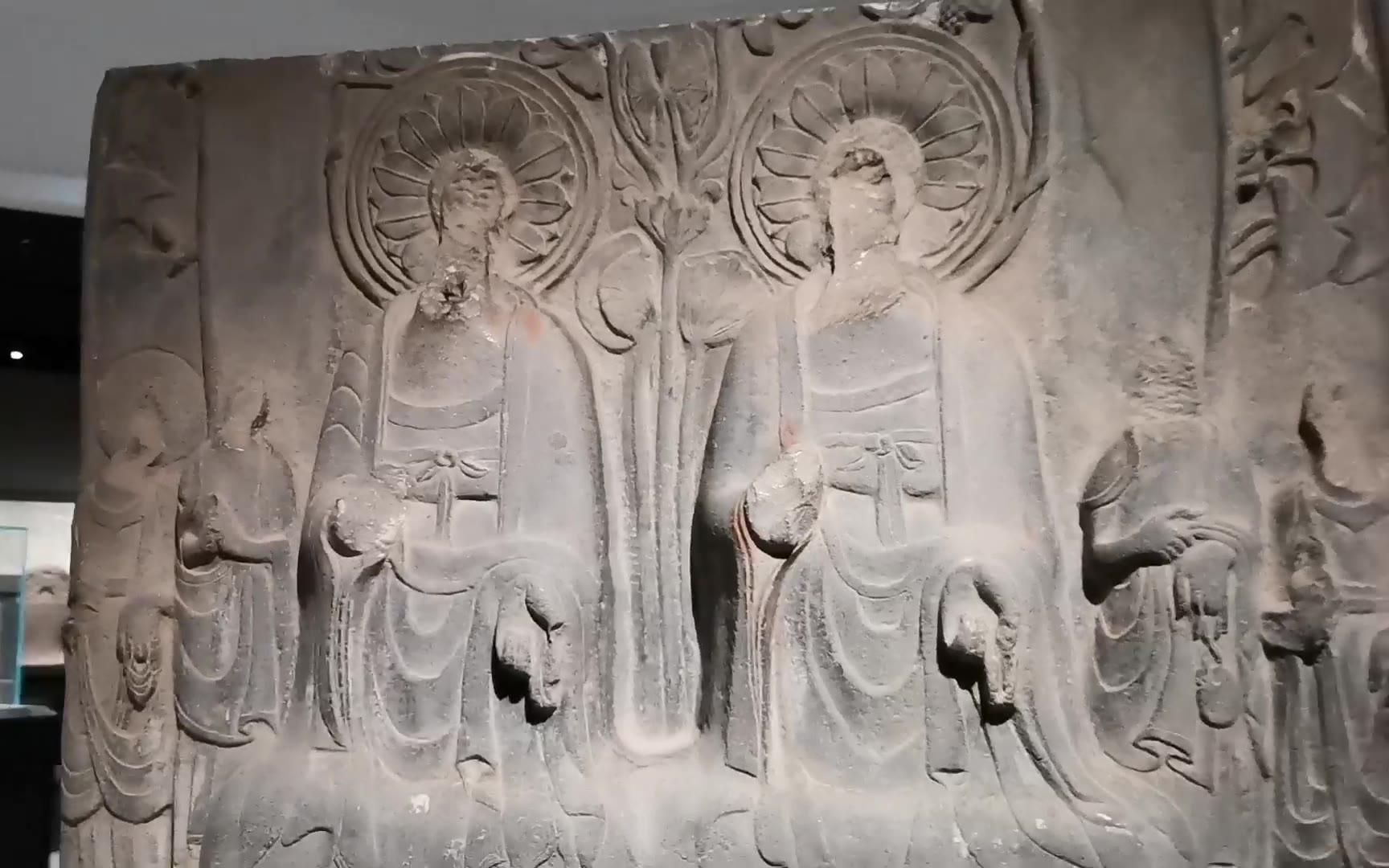 【旅拍vlog】【博物馆之旅】河南博物院馆藏古代石刻艺术展